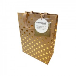 GB01M Gold Spot Gift Bag Medium
