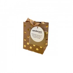 GB01S Gold Spot Gift Bag Small