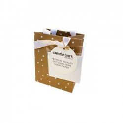 GB02S White Star Gift Bag Small