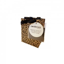 GB03S Leopard Print Gift Bag Small